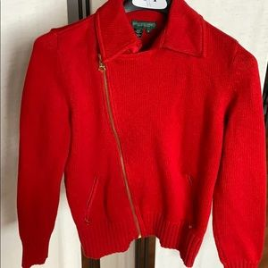 Ralph Lauren sweater jacket, M